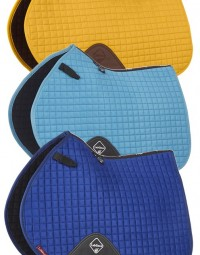 11331 - LeMieux - ProSport Suede Close Contact Square (D-Ring) New Colours